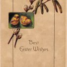 Best Easter Wishes, Chicks, Pussywillow / Embossed (A130)