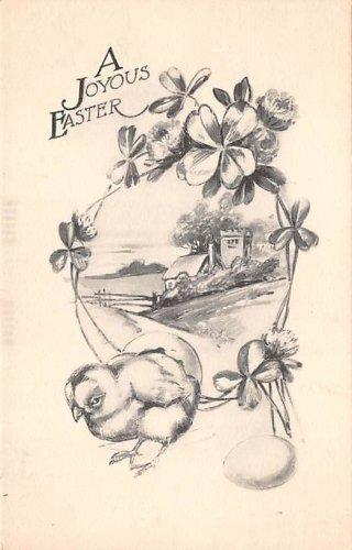 A Joyous Easter - Signed Schlesinger 1912 (A129)