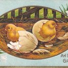 An Easter Greeting -1911 Embossed (A134)