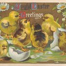 Joyful Greetings -1910 Embossed (A136)