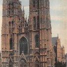 Bruxelles, Brussels -La Cathedrale, Eglise Sainte Gudule (A204)