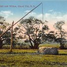 Grand Pre, Evangeline's Well and Willow, Nova Scotia, Canada (A273)
