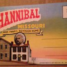Hannibal Missouri Souvenir Folder, 18 views (Folder_A1951)