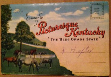 Pictursque Kentucky, Souvenir Folder, 18 views (Folder_A1950)