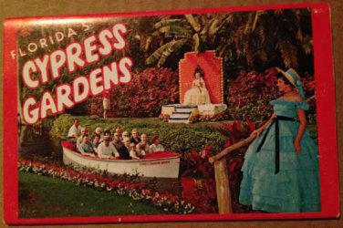 Florida's Cypress Gardens -Souvenir Folder, 11 views (Folder_A1948)