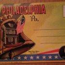 Philadelphia, PA Souvenir Folder -18 views (Folder_A1946)