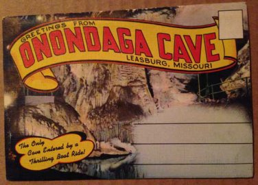 Leasburg, Missouri Onondaga Cave -18 views (Folder_A1945)