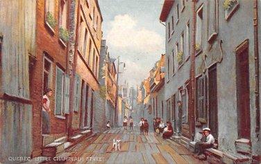Quebec, Little Champlain Street - Tuck (A526-527)