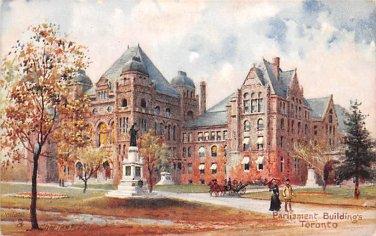 Toronto, Parliament Building - C. Flower, Tuck (A524-525)