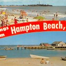 Hampton Beach, NH, Yacht Club Postcard (A439)