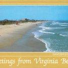 Virginia Beach, VA - Sandbridge Beach Postcard (A458)