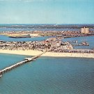 Clearwater Beach, Florida Aerial View 1967 Postcard (A459)