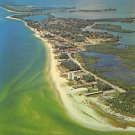 Lido Key on Gulf Mexico, Florida Postcard (A461)