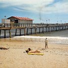 Fort Lauderdale, Florida Fishing Pier 1975 Postcard (A466)