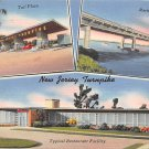 Turnpike, New Jersey, NJ 1945 Multi View (A476)