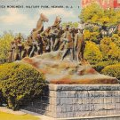 Newark, New Jersey, NJ Wars Of America Monument 1942 (A483)