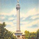 Trenton, NJ Postcard Battle Monument Park 1953 (A496)