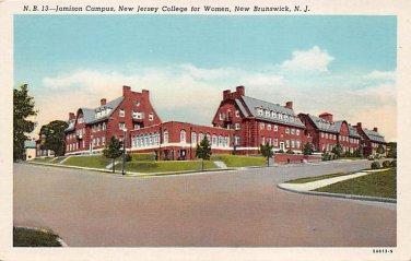 New Brunswick, NJ Postcard - Jamison Campus (A499)
