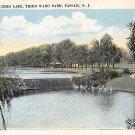 Passaic, NJ Postcard - Hughes Lake, Third Ward Park 1928 (A506)