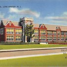 Long Branch, NJ Postcard - High School 1942 (A507)