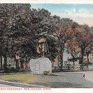 New London, Conn, CT Postcard - John Winthrop Monument (A613)