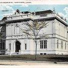 Hartford, Conn, CT Postcard - The Morgan Memorial  (A615)