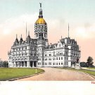Hartford Conn, CT Postcard State Capitol (A624)