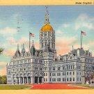 Hartford, Conn, CT Postcard - State Capitol 1948 (A629)