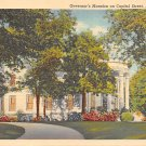 Jackson, Miss, MS Postcard - Governor's Mansion Capitol Street (A676)