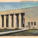 Jackson, Miss, MS Postcard - War Memorial 1942 (A674)