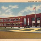 Corinth, Miss, MS Postcard - Corinth High School (A661)