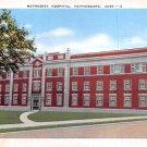 Hattiesburg, Miss, MS Postcard - Methodist Hospital (A659)