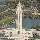 Baton Rouge, La Louisiana Postcard -State Capitol 1942 (A657)