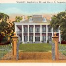 Natchez, Miss, MS Postcard - Dunleith (A648)