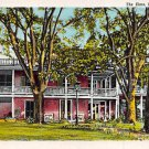 Natchez, Miss, MS Postcard - The Elms (A647)