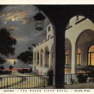 Biloxi, Miss, MS Postcard - Buena Vista Hotel Night 1936 (A640)