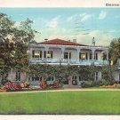 Natchez, Miss, MS Postcard - The Elmscourt 1948 (A638)