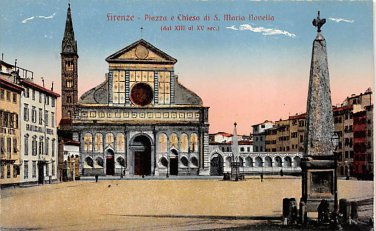 Firenze, Italy - Night Scenes - Lot of 3 (A864-868)