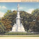 Gettysburg, PA Postcard - Soldier's Monument 1941 (A698) Penna, Pennsylvania