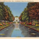 Fairmount Park Philadelpia, PA Postcard - 1943 (A699) Penna, Pennsylvania