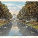 Fairmount Park Philadelpia, PA Postcard (A704) Penna, Pennsylvania