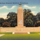 Gettysburg, PA Postcard - Eternal Light Peace Memorial (A705) Penna, Pennsylvania