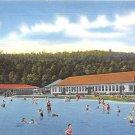 Public Swimming Pool, PA Postcard - (A712) Penna, Pennsylvania