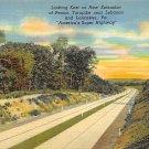 Lancaster, PA Postcard - Turnpike (A715) Penna, Pennsylvania