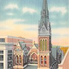 Allentown, PA Postcard Zion Reformed Church (A721) Penna, Pennsylvania