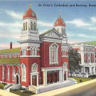 Scranton, PA Postcard - St. Peter's Cathedral (A729) Penna, Pennsylvania