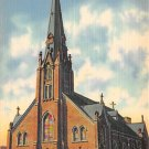 Freeland, PA Postcard - St. John's Catholic Church (A734) Penna, Pennsylvania