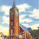 Williamsport, PA Postcard - St. Boniface Church (A735) Penna, Pennsylvania
