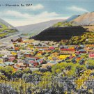 Shamokin, PA Postcard - Bird's Eye View (A740) Penna, Pennsylvania