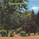 Honesdale, PA Postcard - Uptown Park (A754) Penna, Pennsylvania
